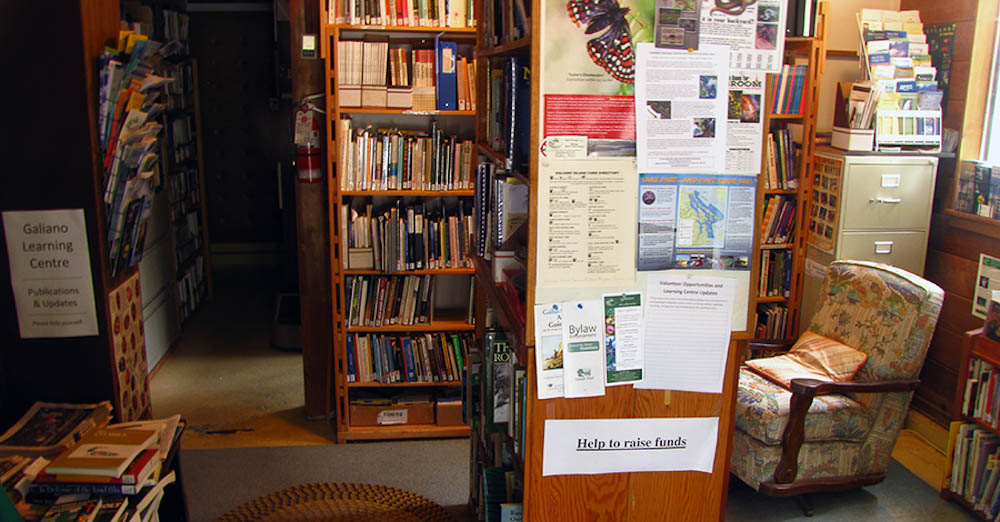Galiano Conservancy Library