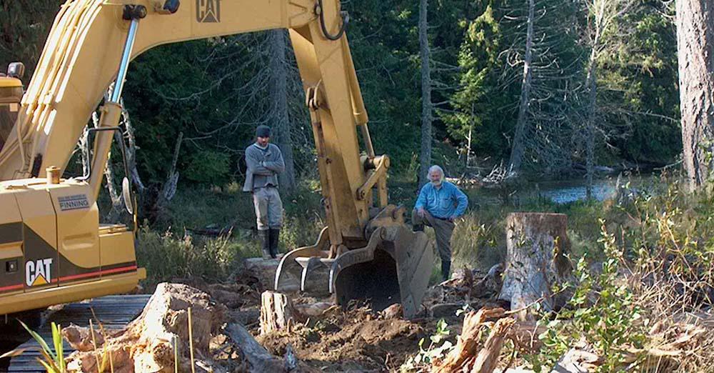 Major restoration at Laughlin Lake