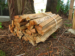 Galiano Conservancy kindling sales