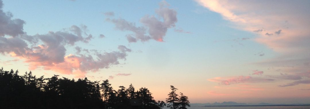 galiano island sunset
