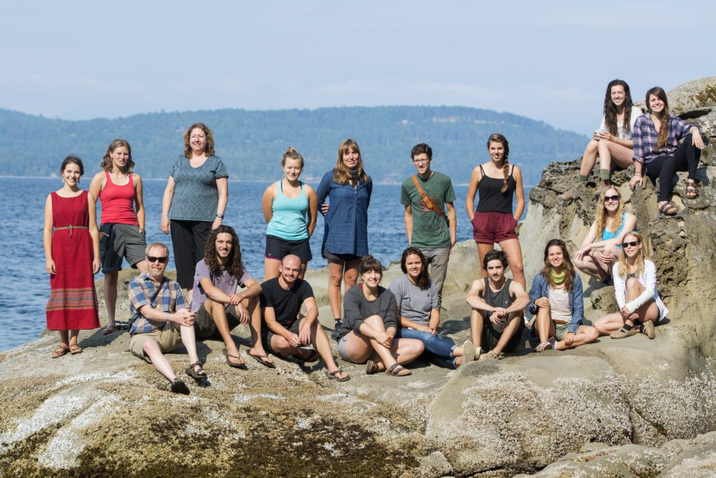 UVic Environmental Studies experiential education Field Course 2015