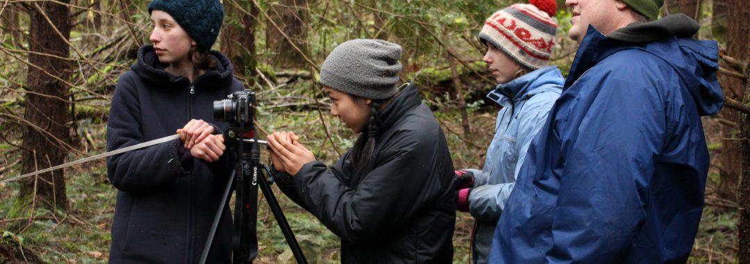 Students, Forest, restoration